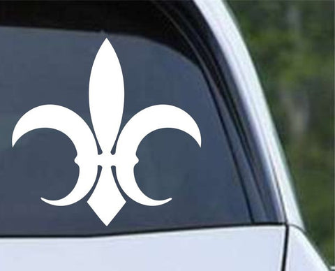 Fleur De Lis (03) Die Cut Vinyl Decal Sticker - Decals City