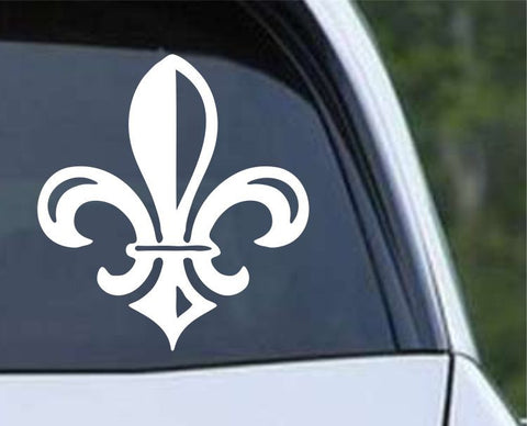 Fleur De Lis (04) Die Cut Vinyl Decal Sticker - Decals City