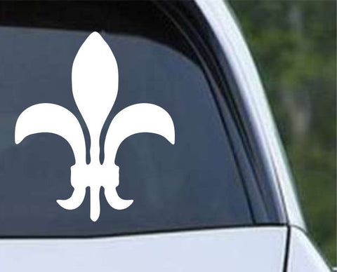 Fleur De Lis (05) Die Cut Vinyl Decal Sticker - Decals City