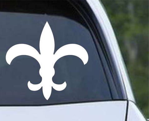 Fleur De Lis (06) Die Cut Vinyl Decal Sticker - Decals City