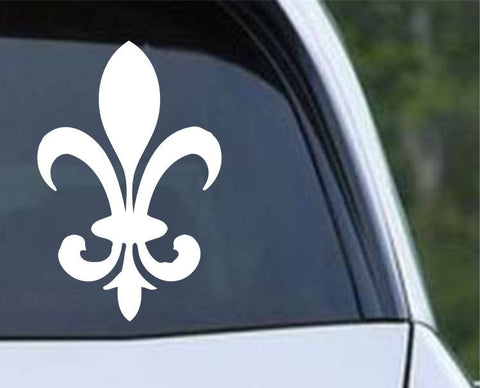 Fleur De Lis (07) Die Cut Vinyl Decal Sticker