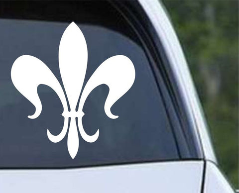 Fleur De Lis (08) Die Cut Vinyl Decal Sticker