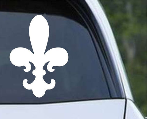 Fleur De Lis (09) Die Cut Vinyl Decal Sticker