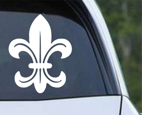 Fleur De Lis (10) Die Cut Vinyl Decal Sticker - Decals City