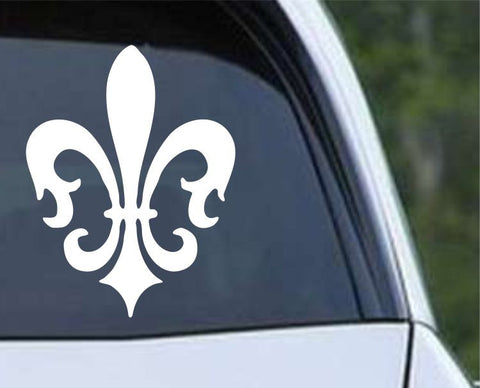 Fleur De Lis (11) Die Cut Vinyl Decal Sticker - Decals City