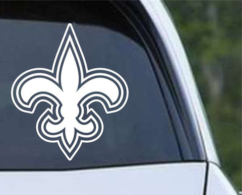 Fleur De Lis (12) Die Cut Vinyl Decal Sticker - Decals City