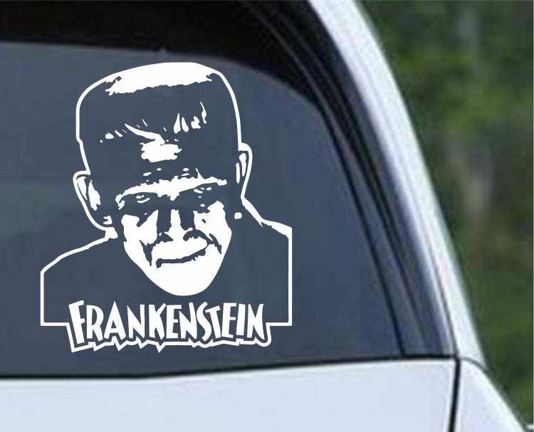 Frankenstein (b) Monster Die Cut Vinyl Decal Sticker - Decals City