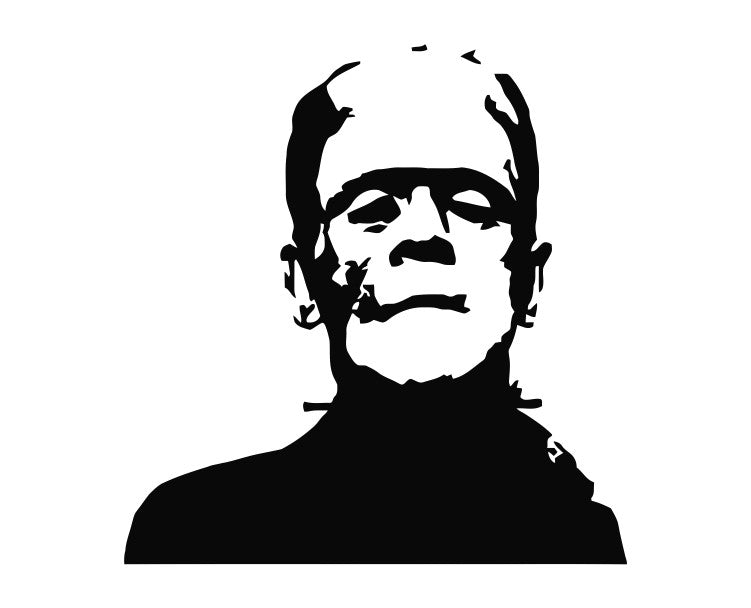 Frankenstein (f) Monster Die Cut Vinyl Decal Sticker - Decals City