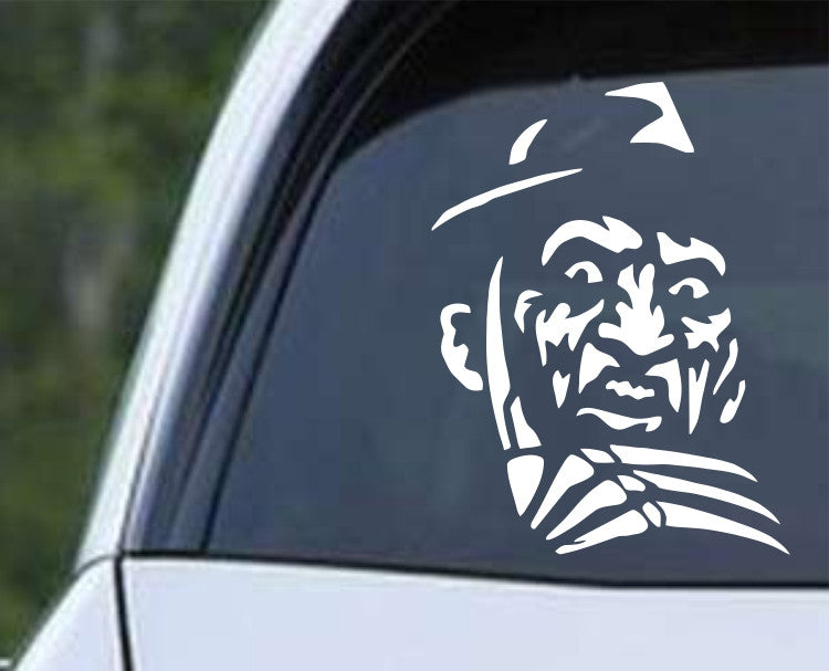 Freddy Krueger Nightmare on Elm Street (c) Die Cut Vinyl Decal Sticker - Decals City