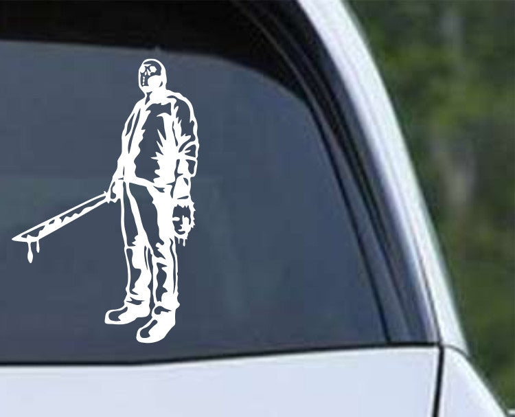 Friday the 13th Jason (d) Die Cut Vinyl Decal Sticker - Decals City