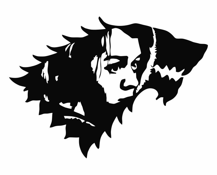 Game Of Thrones - Arya Stark Direwolf Die Cut Vinyl Decal Sticker - Decals City