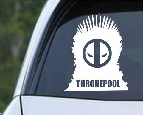 Game Of Thrones - Deadpool Game of Thrones Die Cut Vinyl Decal Sticker - Decals City