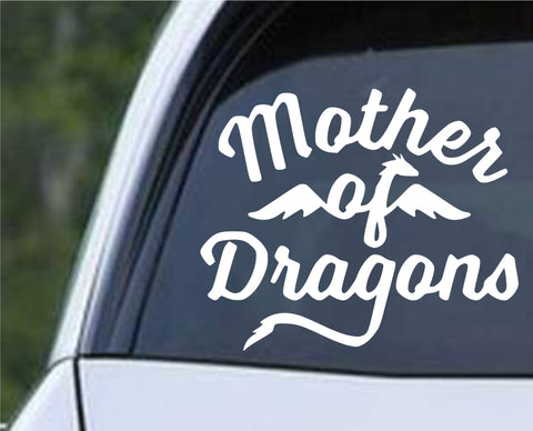 Game Of Thrones GOT- Mother of Dragons ver3 Die Cut Vinyl Decal Sticker - Decals City