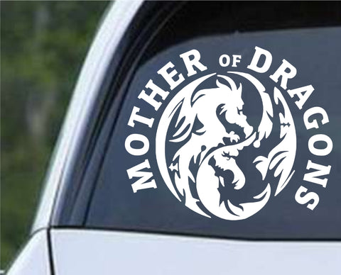 Game Of Thrones GOT- Mother of Dragons ver4 Die Cut Vinyl Decal Sticker - Decals City