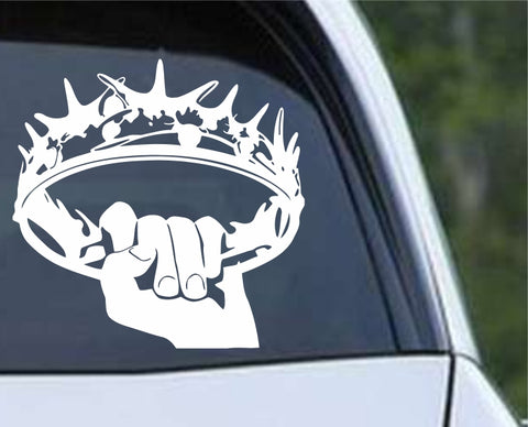 Game Of Thrones GOT - Crown ver2 Die Cut Vinyl Decal Sticker