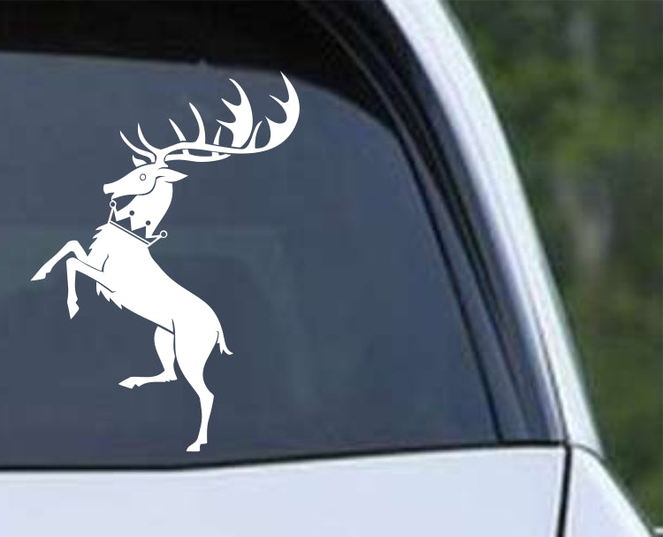 Game of Thrones House Baratheon Stag Die Cut Vinyl Decal Sticker - Decals City