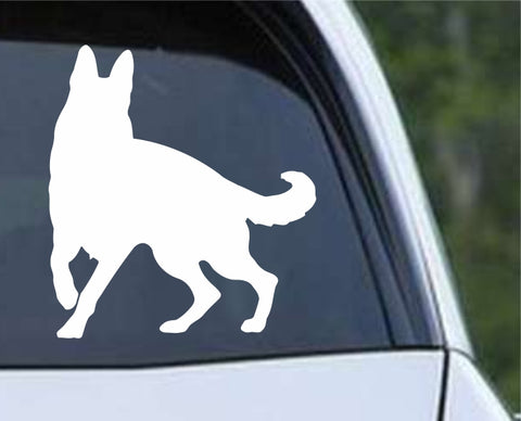 German Shepherd Dog 19 Die Cut Vinyl Decal Sticker - Decals City