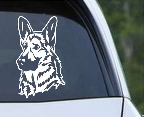 German Shepherd Dog 20 Die Cut Vinyl Decal Sticker - Decals City