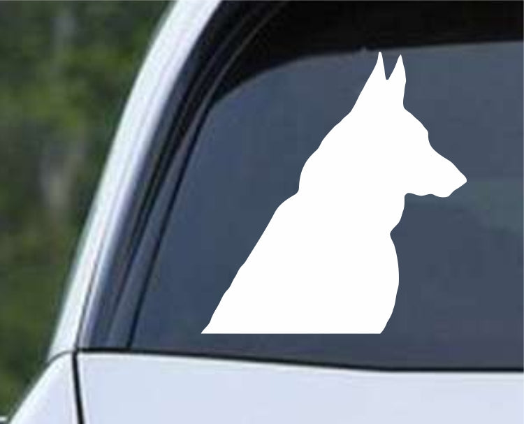 German Shepherd Dog 27 Die Cut Vinyl Decal Sticker - Decals City