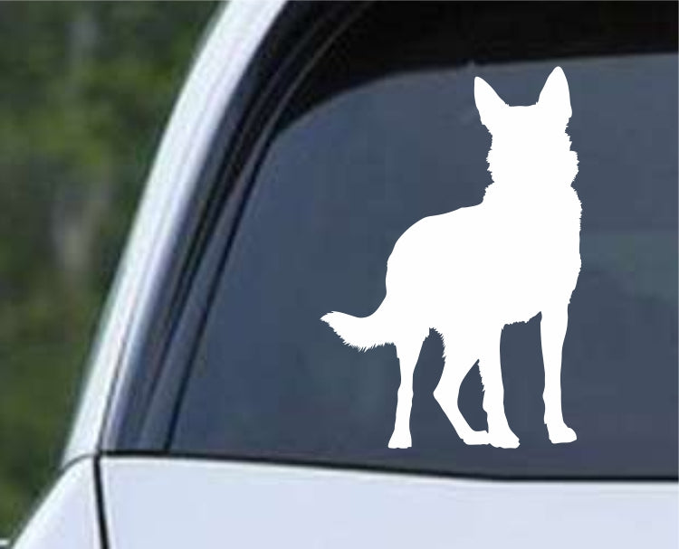 German Shepherd Dog 7 Die Cut Vinyl Decal Sticker - Decals City