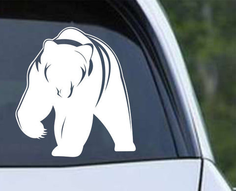 Grizzly Bear Die Cut Vinyl Decal Sticker - Decals City