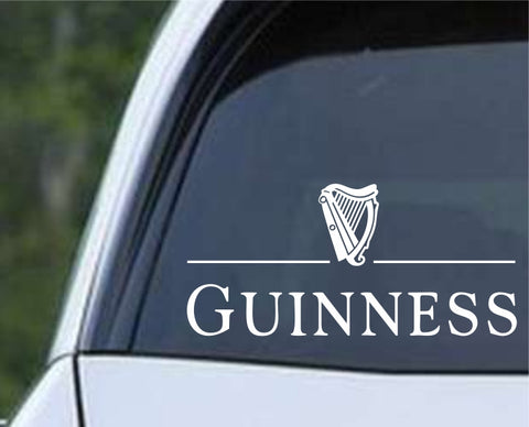 Guinness Beer Die Cut Vinyl Decal Sticker