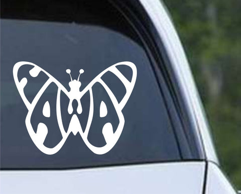 Hawaii Butterfly Die Cut Vinyl Decal Sticker