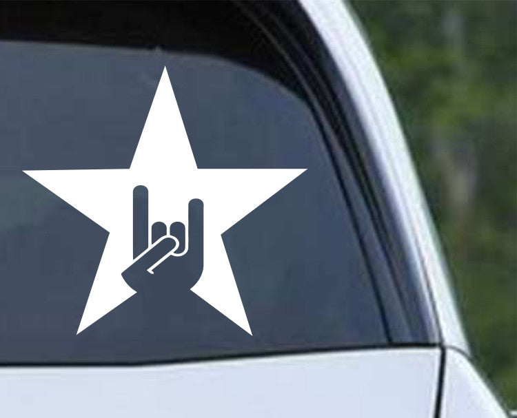 Heavy Metal Hang Loose Rock N Roll (06) Die Cut Vinyl Decal Sticker - Decals City