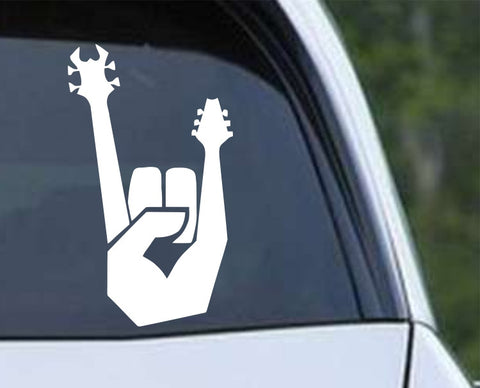 Heavy Metal Hang Loose Rock N Roll (07) Die Cut Vinyl Decal Sticker