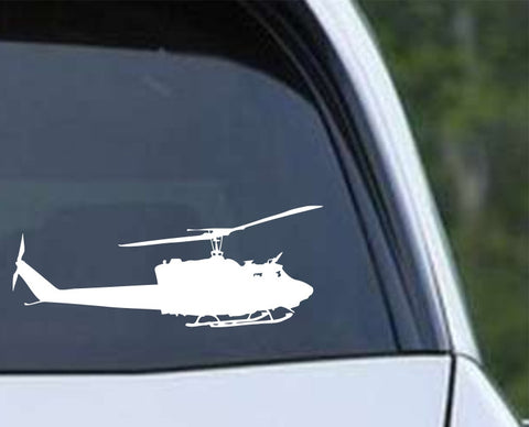 Helicopter-2 Die Cut Vinyl Decal Sticker - Decals City