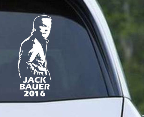 Jack Bauer President 2016 Die Cut Vinyl Decal Sticker - Decals City
