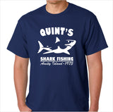 Jaws Quint's Shark Fishing Custom Made T-Shirt - Decals City