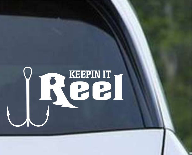Keepin It Reel (FSN1-4) Die Cut Vinyl Decal Sticker - Decals City