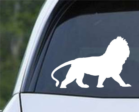Lion Silhouette Die Cut Vinyl Decal Sticker - Decals City
