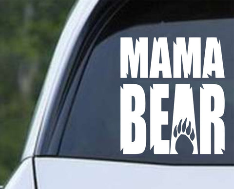 Mama Bear Die Cut Vinyl Decal Sticker - Decals City