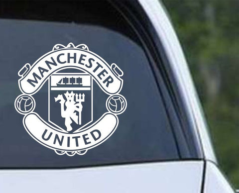 Manchester United Football Club Inspired Die Cut Vinyl Decal Sticker - Decals City