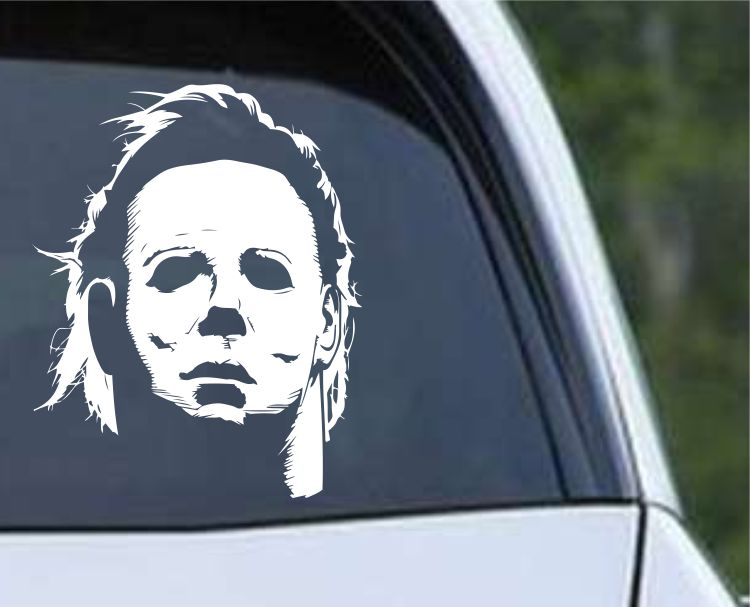 Michael Myers Halloween (j) Die Cut Vinyl Decal Sticker - Decals City