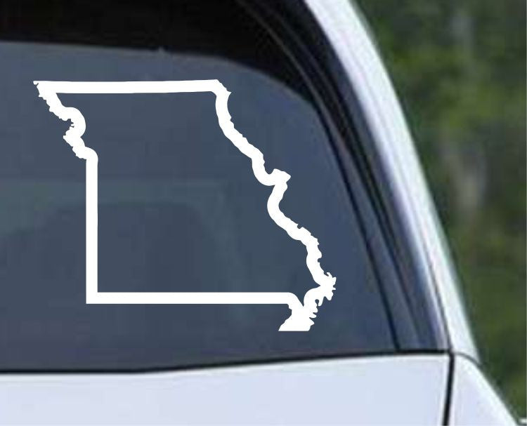 Missouri State Outline MO - USA America Die Cut Vinyl Decal Sticker - Decals City