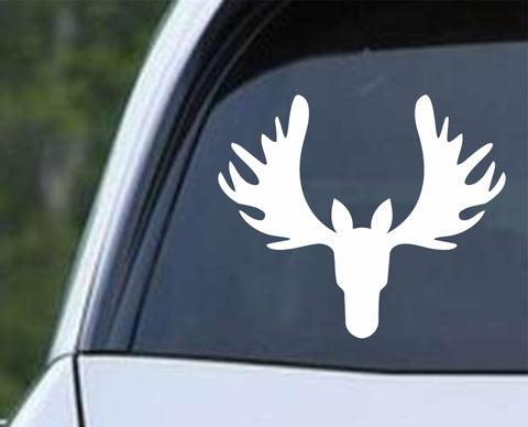 Moose Rack Die Cut Vinyl Decal Sticker