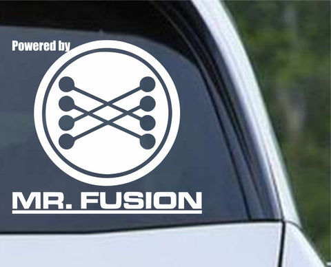 Back to The Future - Mr Fusion Die Cut Vinyl Decal Sticker - Decals City