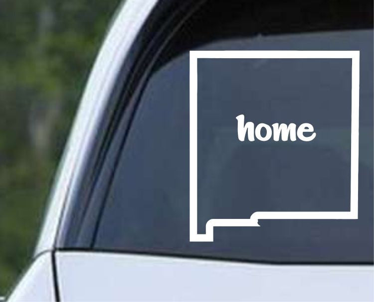 New Mexico Home State Outline NM - USA America Die Cut Vinyl Decal Sticker - Decals City