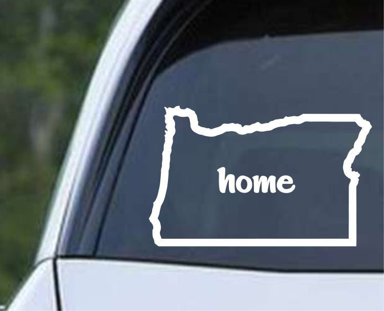 Oregon Home State Outline OR - USA America Die Cut Vinyl Decal Sticker - Decals City