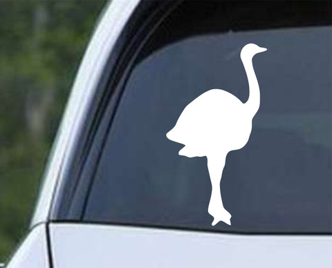 Ostrich (ver a) Die Cut Vinyl Decal Sticker - Decals City
