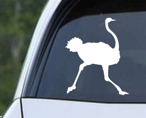 Ostrich (ver b) Die Cut Vinyl Decal Sticker - Decals City