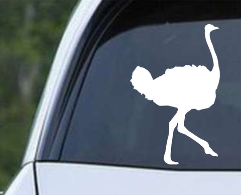 Ostrich (ver c) Die Cut Vinyl Decal Sticker - Decals City