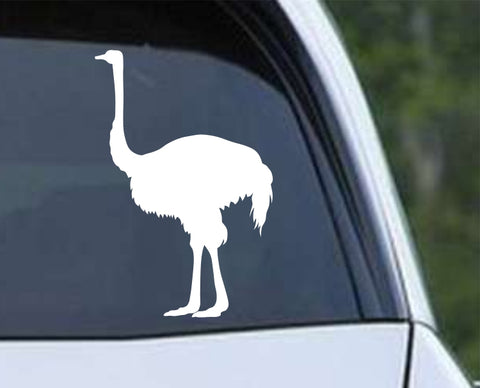 Ostrich (ver e) Die Cut Vinyl Decal Sticker - Decals City