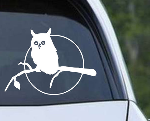 Owl (01) Die Cut Vinyl Decal Sticker