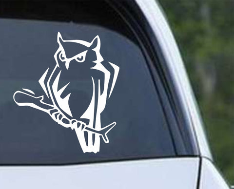 Owl (03) Die Cut Vinyl Decal Sticker