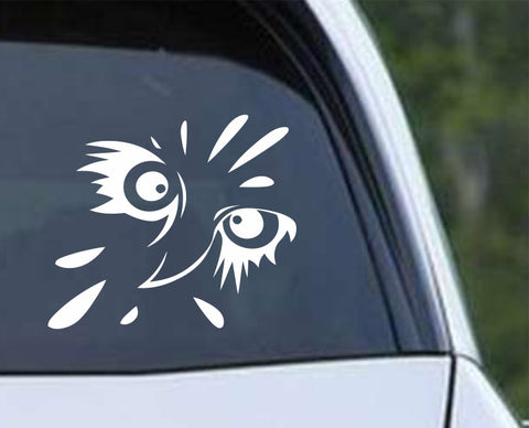 Owl (04) - Bird of Prey Owl Eagle Hawk Osprey Osprey Hunting Falconry Die Cut Vinyl Decal Sticker