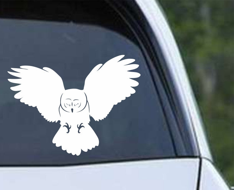 Owl (05) Die Cut Vinyl Decal Sticker - Decals City